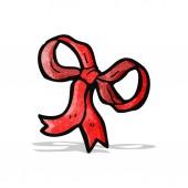 装飾的な弓漫画 — ストックベクタ