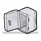 Cartoon safe — Stock Vector