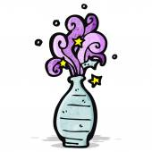 Cartoon magic potion — Stock Vector