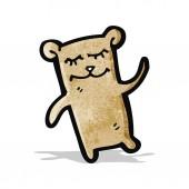 Cartone animato teddy bear — Vettoriale Stock