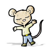 Cartoon mouse — Stock Vector