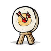 Cartoon archery target — Stock Vector