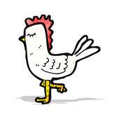Cartoon chicken — Stock Vector