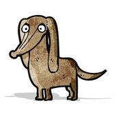 Funny little dog cartoon — Stock Vector
