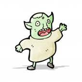 Cartoon goblin — Stock Vector