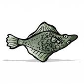 Fish illustration — Stock Vector