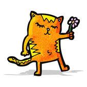 милый мультфильм кошка — Cтоковый вектор