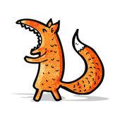 Cartoon fox — Stock Vector