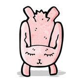 Cartoon bunny — Stock Vector