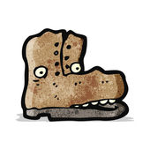 Olc boot cartoon character — Stock vektor