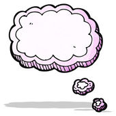 Cartoon thought bubble — Stock Vector