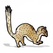 Weasel illustration — Stock Vector