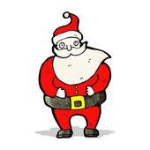 圣诞老人卡通人物 — 图库矢量图片
