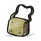 Cartoon satchel — Stock Vector