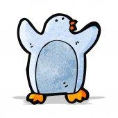 Cartoon penguin — Stock Vector