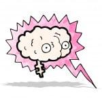 Brain power cartoon — Stock Vector #59646409