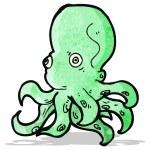 Cartoon octopus — Stock Vector #59647309