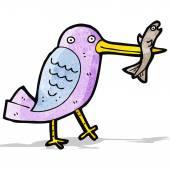 Cartoon hummingbird — Stock Vector