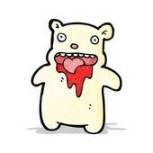 Cartoon lilla isbjörn — Stockvektor