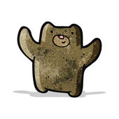 Cartoon little bear — Stock Vector