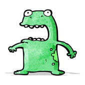 Cartoon frog — Stock Vector