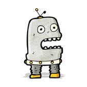Cartoon robot — Stockvector