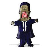 Cartoon vampire — Stock Vector