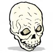 Kreskówka czaszki — Wektor stockowy