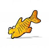 мультипликационная рыба — Cтоковый вектор