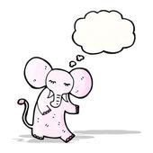 Cartoon pink elephant — Stock Vector