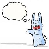 Vampir-Bunny-Häschen — Stockvektor