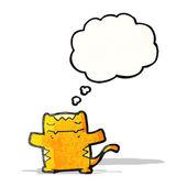 Happy cartoon cat — Stock Vector