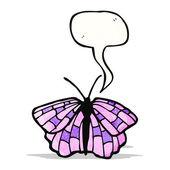 Cartoon butterfly — Stock Vector