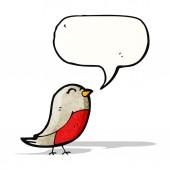 思考バブル漫画ロビン — ストックベクタ
