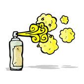 Cartoon graffiti spray can — Stock Vector