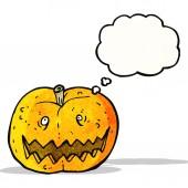 Kreslený halloween dýně — Stock vektor