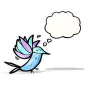 Colibri de dessin animé — Vecteur