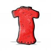 Cartoon tee shirt — Stock Vector