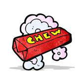 Cartoon chew bar — Stock Vector