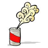 Шипит соды можно мультфильм — Cтоковый вектор
