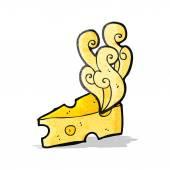 Carton cheese — Stock Vector