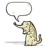 Desenho animado de cachorrinho — Vetor de Stock