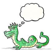 Cartoon chinese dragon — Stock Vector