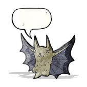 Cartoon bat — Stock Vector