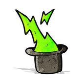 Magician's top hat cartoon — Stock Vector