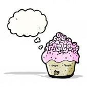 Cartoon muffin — Stock Vector
