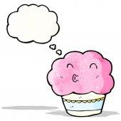 Cartoon-muffin — Stockvektor