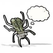 Cartoon giant bug — Stock Vector