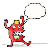 Crazy cartoon monster — Stock Vector