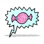 Süßigkeiten-cartoon-zeichen — Stockvektor
